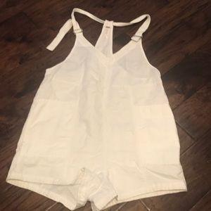 Free People Pants - Free People Cotton & Linen Romper